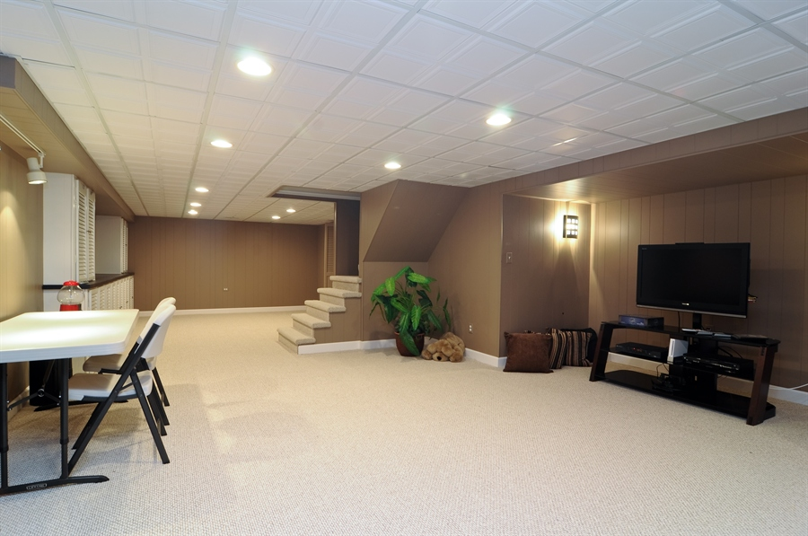 Real Estate Photography - 1215 Meadow Way, BARRINGTON, IL, 60010 - Lower Level