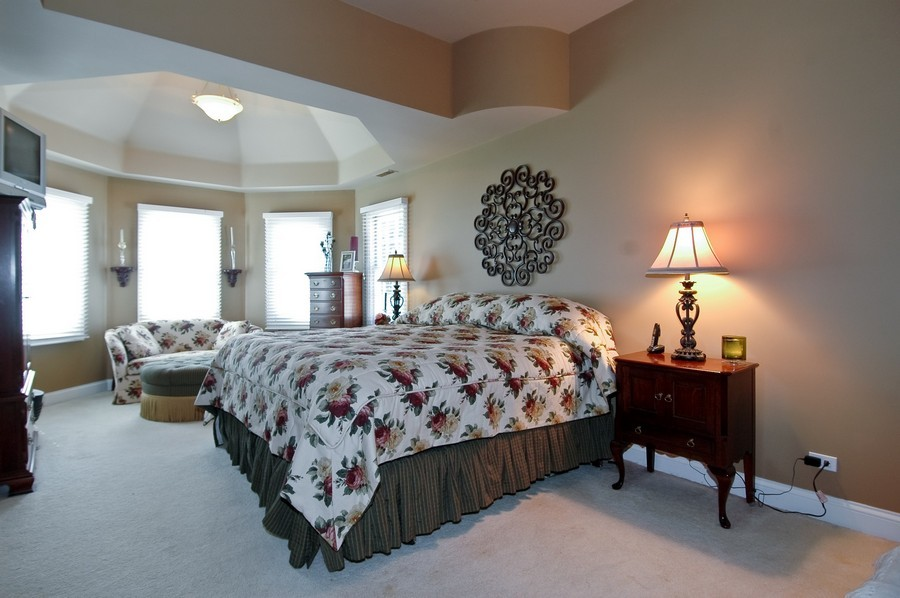 Real Estate Photography - 6105 Raintree, Crystal Lake, IL, 60014 - Master Bedroom