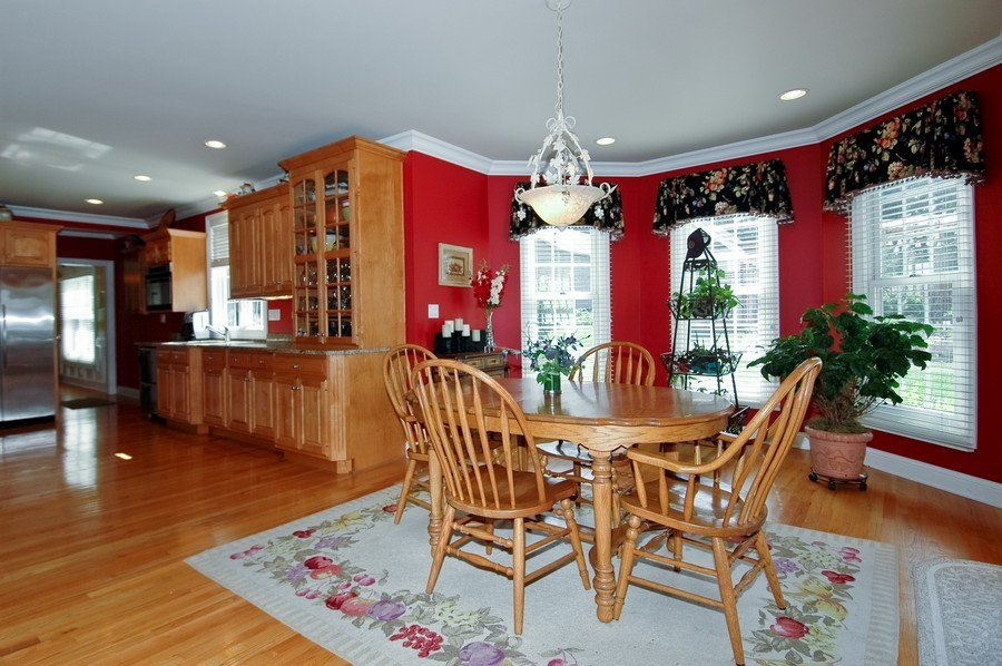 Real Estate Photography - 6105 Raintree, Crystal Lake, IL, 60014 - Dining Area