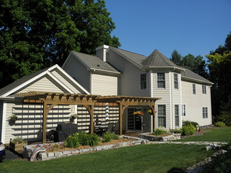 Real Estate Photography - 6105 Raintree, Crystal Lake, IL, 60014 - Rear View