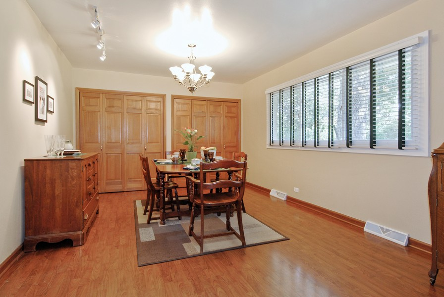 Real Estate Photography - 5149 Riverview DR, LISLE, IL, 60532 - Dining Room
