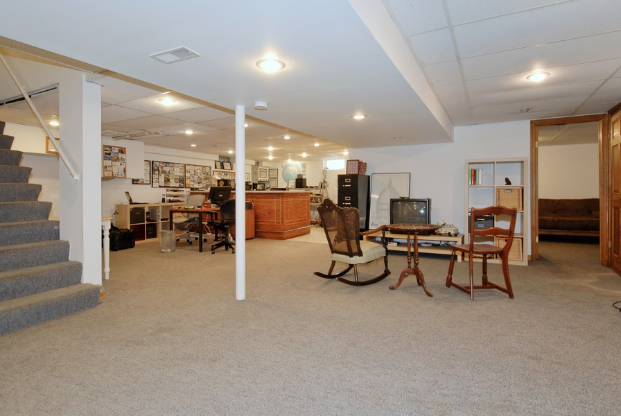 Real Estate Photography - 5149 Riverview DR, LISLE, IL, 60532 - Basement