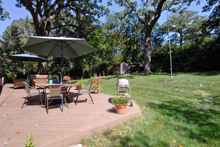 Real Estate Photography - 5149 Riverview DR, LISLE, IL, 60532 - Back Yard