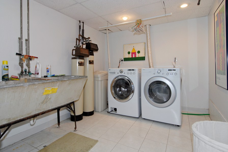 Real Estate Photography - 5149 Riverview DR, LISLE, IL, 60532 - Laundry Room