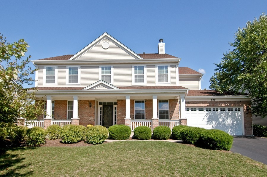 Real Estate Photography - 430 Wentworth Cir, CARY, IL, 60013 - Front View