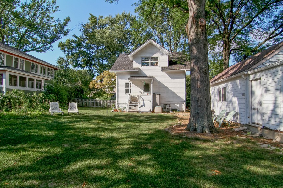 Real Estate Photography - 339 Cottage Ave., Glen Ellyn, IL, 60137 - Rear View
