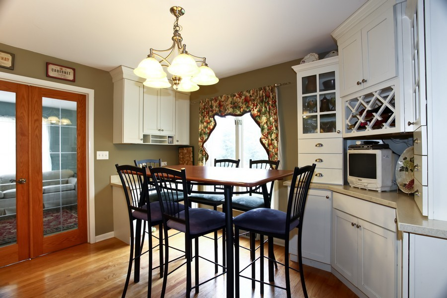 Real Estate Photography - 312 Spring Ave., GLEN ELLYN, IL, 60137 - Breakfast Area