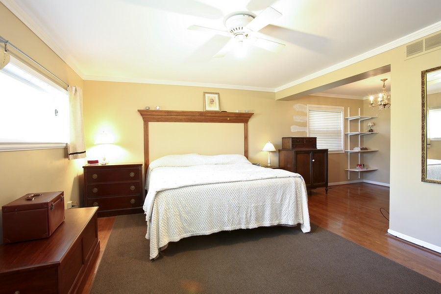 Real Estate Photography - 3230 Drew ST, DOWNERS GROVE, IL, 60515 - Master Bedroom