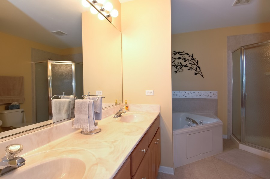 Real Estate Photography - 9165 Falcon Greens Dr, Lakewood, IL, 60014 - Master Bathroom