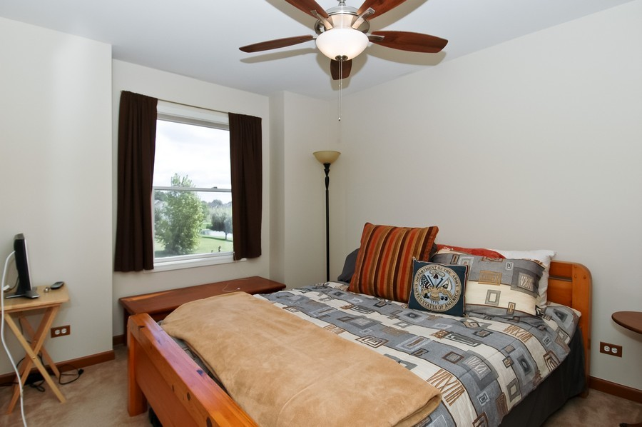 Real Estate Photography - 9165 Falcon Greens Dr, Lakewood, IL, 60014 - Bedroom