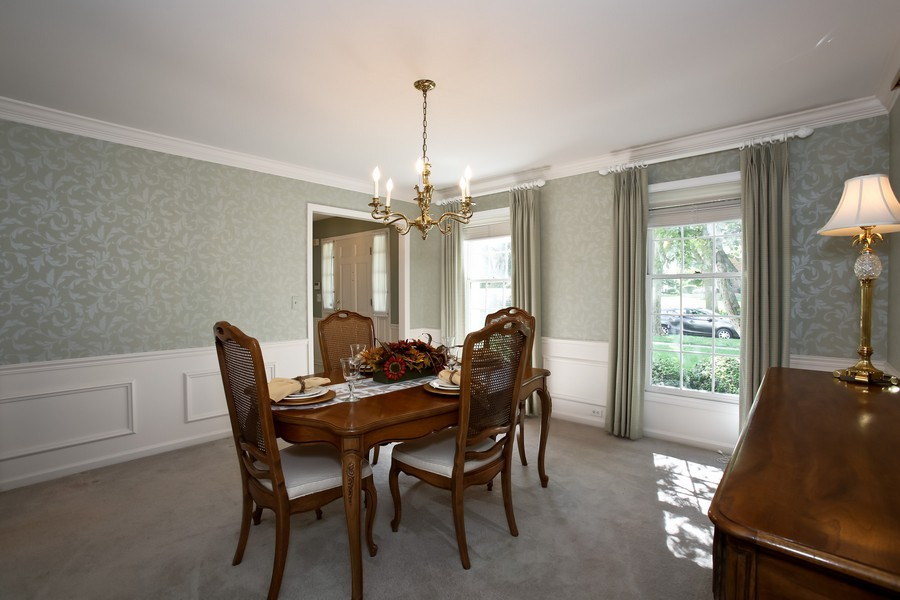 Real Estate Photography - 1450 Wood Ave, Downers Grove, IL, 60515 - Dining Room