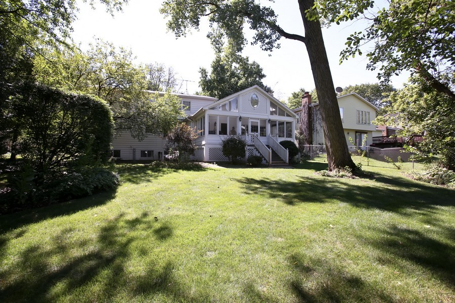 Real Estate Photography - 1450 Wood Ave, Downers Grove, IL, 60515 - Rear View