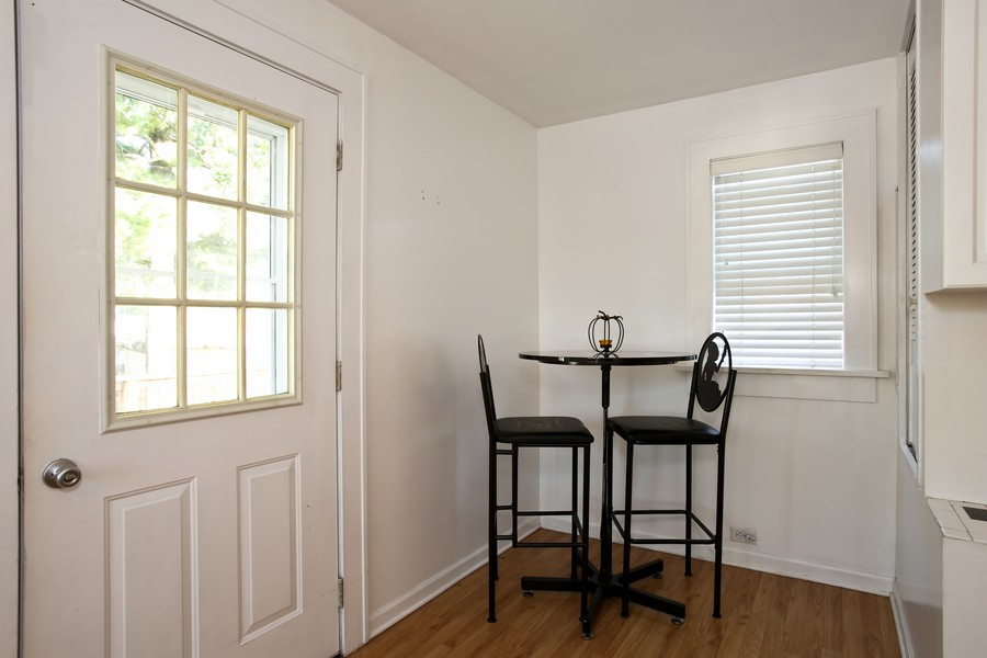 Real Estate Photography - 25 South Summit St, Villa Park, IL, 60181 - Breakfast Area