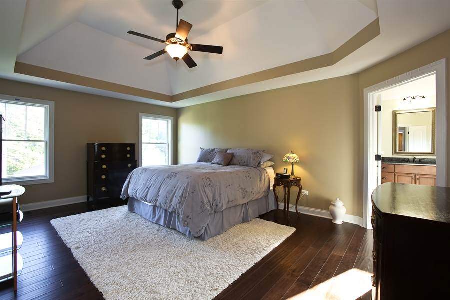 Real Estate Photography - 436 Davis, Downers Grove, IL, 60515 - Master Bedroom