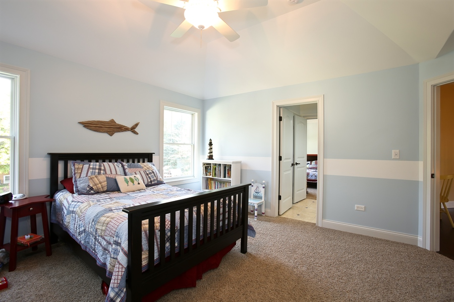 Real Estate Photography - 436 Davis, Downers Grove, IL, 60515 - Bedroom 2