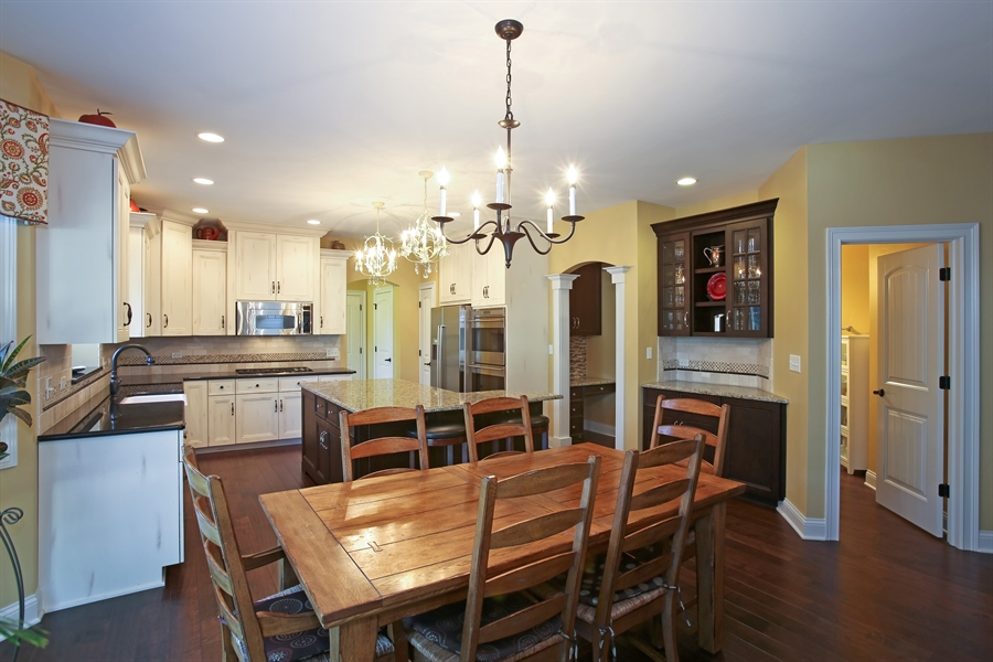 Real Estate Photography - 436 Davis, Downers Grove, IL, 60515 - Kitchen / Breakfast Room