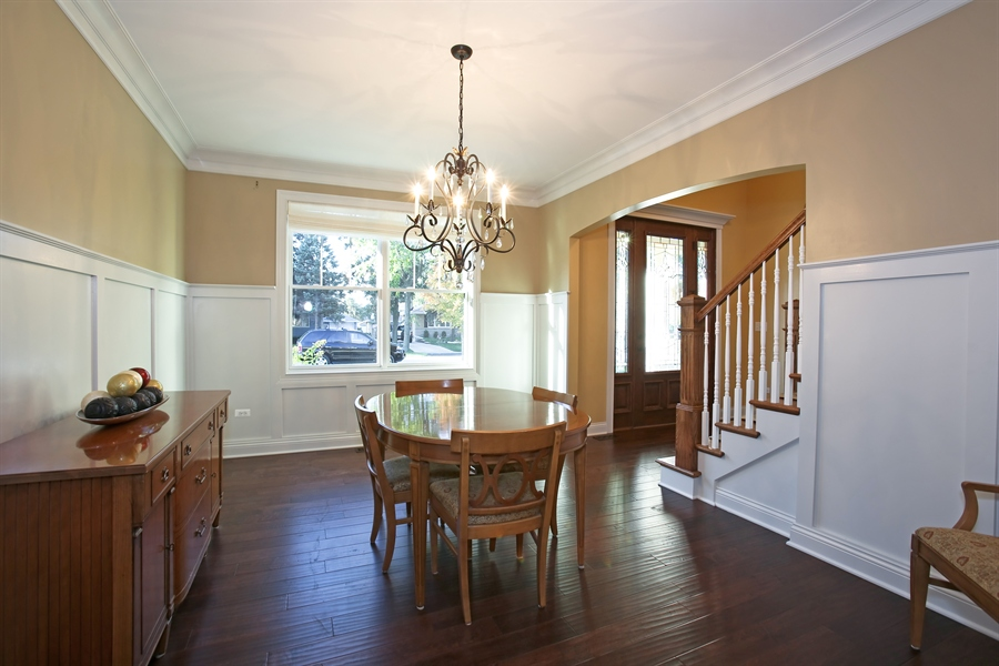 Real Estate Photography - 436 Davis, Downers Grove, IL, 60515 - Formal Dining Room