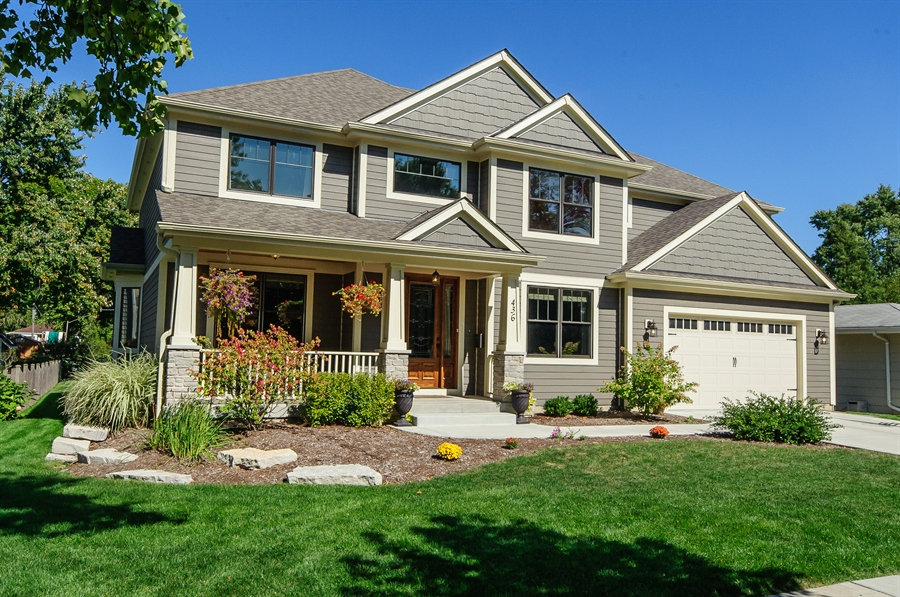 Real Estate Photography - 436 Davis, Downers Grove, IL, 60515 - Front View