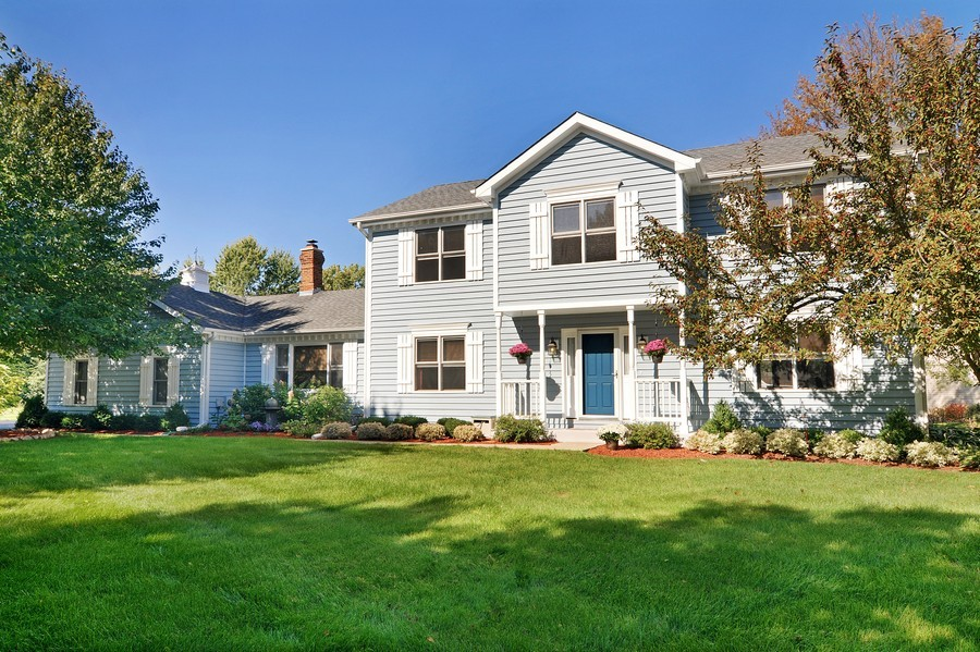 Real Estate Photography - 151 Deer Lane, Barrington, IL, 60010 - Front View