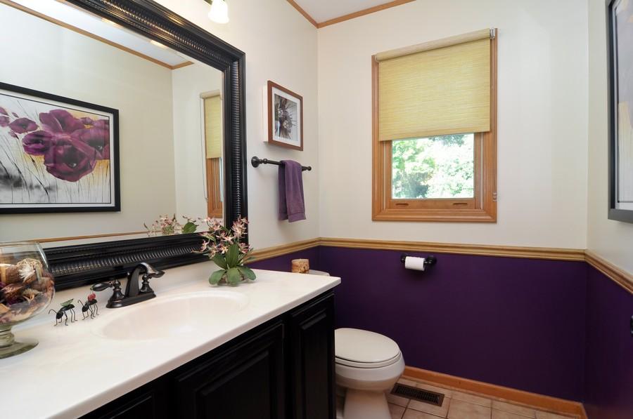 Real Estate Photography - 151 Deer Lane, Barrington, IL, 60010 - Half Bath
