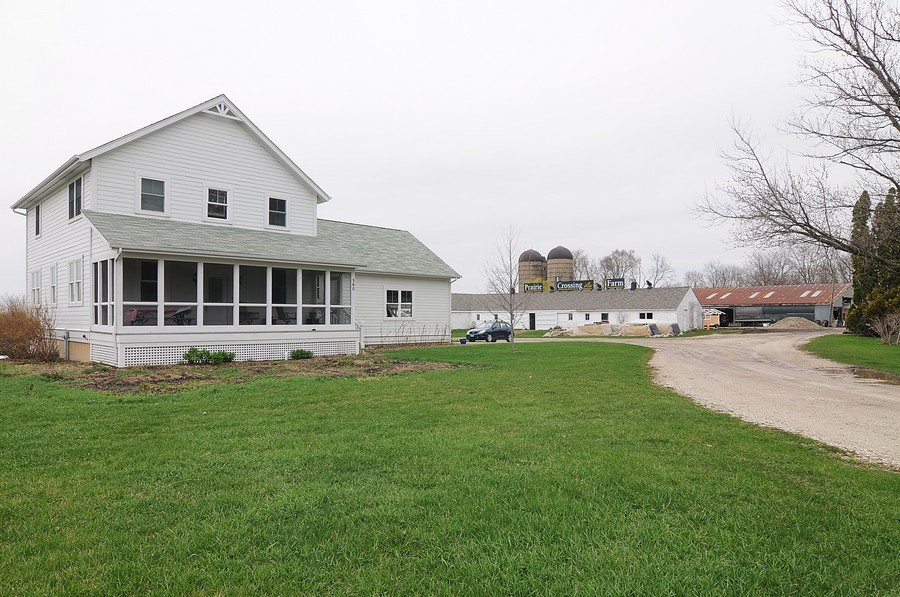 Real Estate Photography - 1403 Sunflower Ct, Grayslake, IL, 60030 - Working Farm at Prairie Crossing