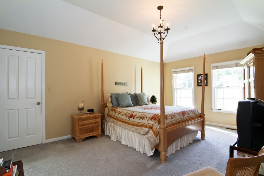 Real Estate Photography - 6521 Greene Rd, Woodridge, IL, 60517 - Master Bedroom