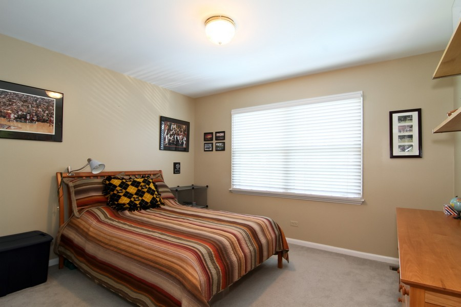 Real Estate Photography - 6521 Greene Rd, Woodridge, IL, 60517 - 2nd Bedroom