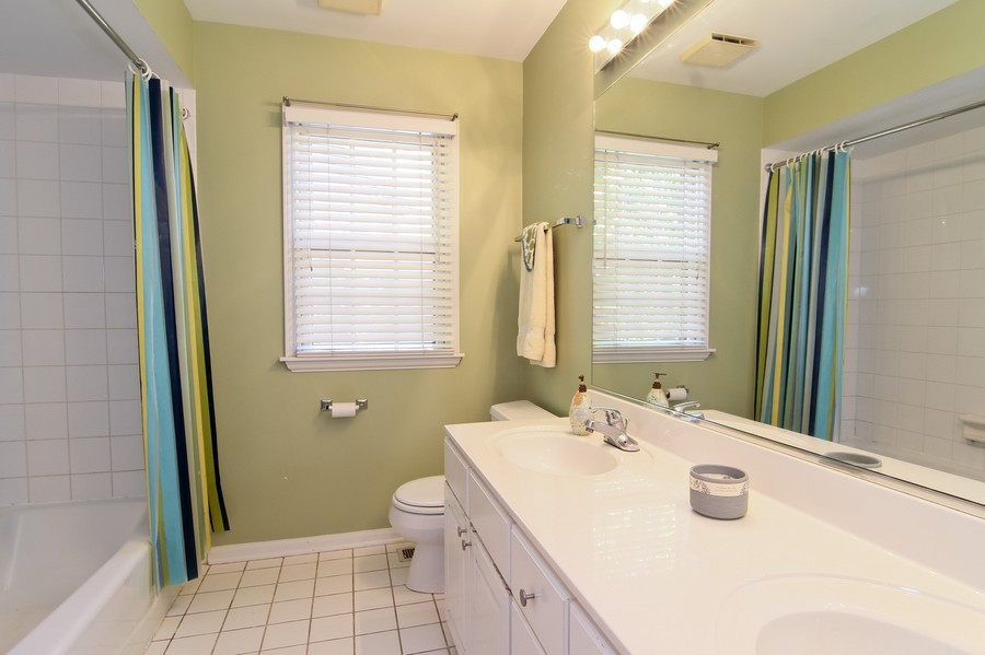Real Estate Photography - 6521 Greene Rd, Woodridge, IL, 60517 - Bathroom