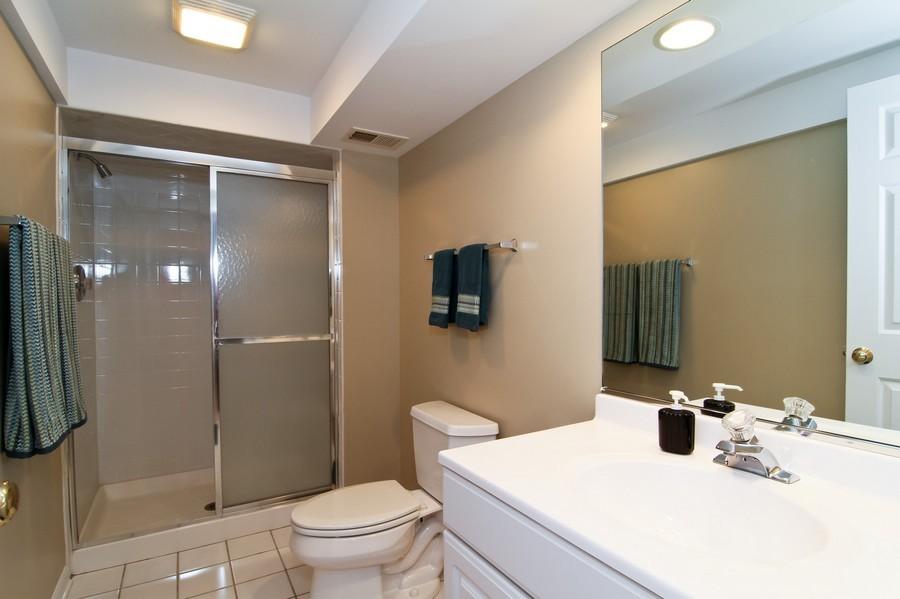 Real Estate Photography - 6521 Greene Rd, Woodridge, IL, 60517 - 2nd Bathroom