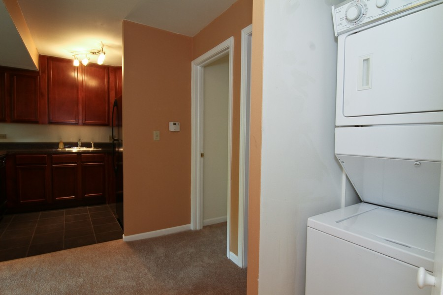 Real Estate Photography - 5825 Oakwood Dr, C, Lisle, IL, 60532 - Laundry Room