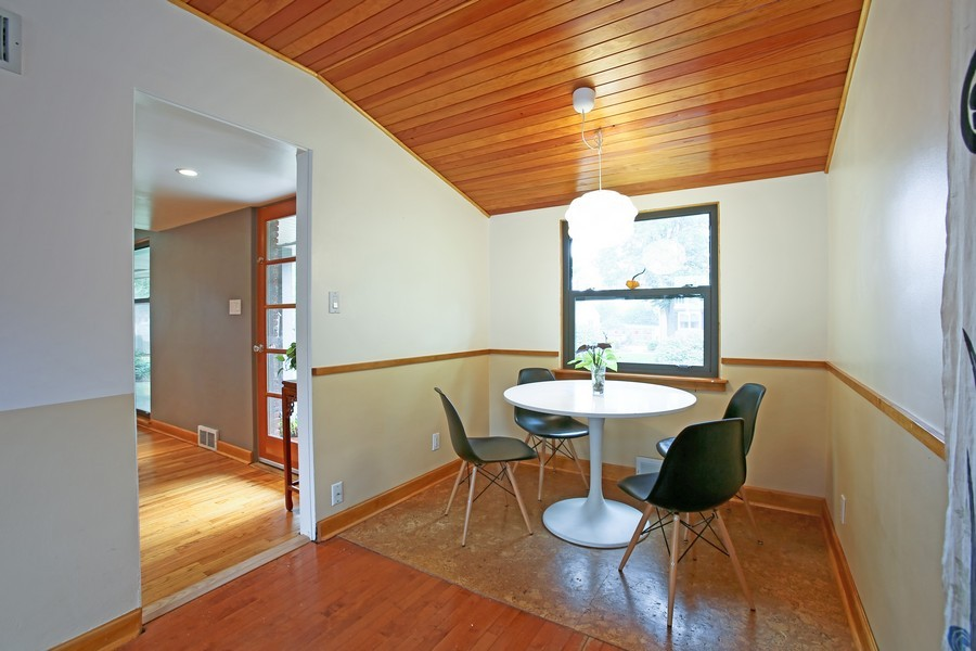 Real Estate Photography - 1205 Grant St, Downers Grove, IL, 60515 - Breakfast Area