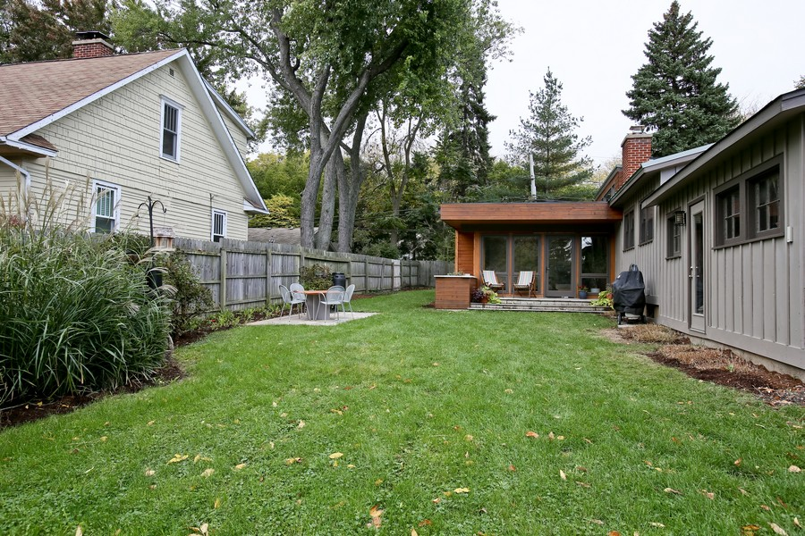 Real Estate Photography - 1205 Grant St, Downers Grove, IL, 60515 - Rear View