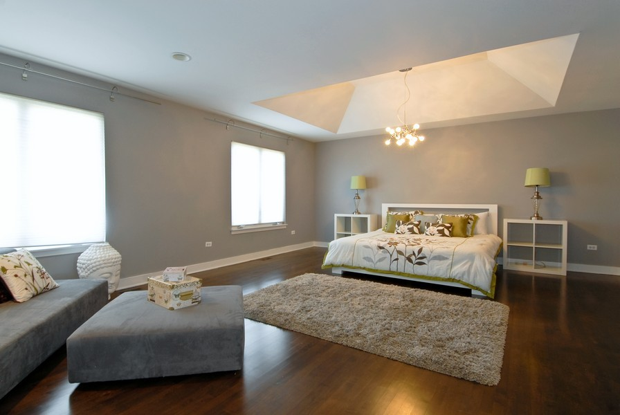 Real Estate Photography - 2303 Fescue Rd, Naperville, IL, 60564 - Master Bedroom
