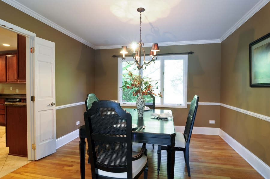 Real Estate Photography - 770 E Hillside Ave, Barrington, IL, 60010 - Dining Room