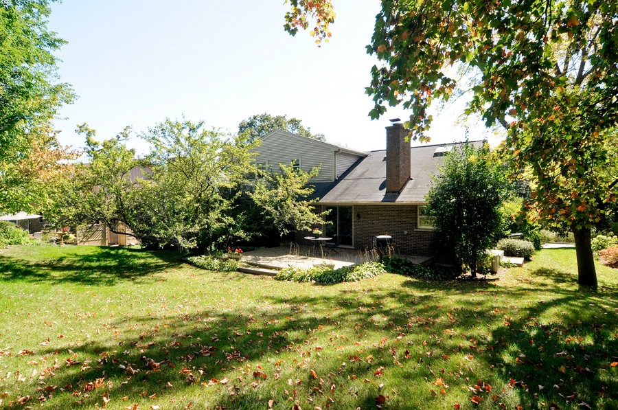 Real Estate Photography - 770 E Hillside Ave, Barrington, IL, 60010 - Rear View