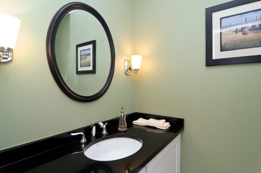 Real Estate Photography - 770 E Hillside Ave, Barrington, IL, 60010 - Half Bath
