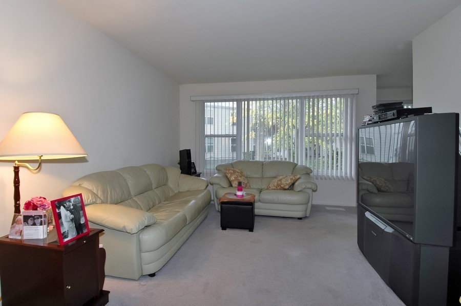 Real Estate Photography - 1020 Chaucer Ct, B, Elgin, IL, 60120 - Living Room