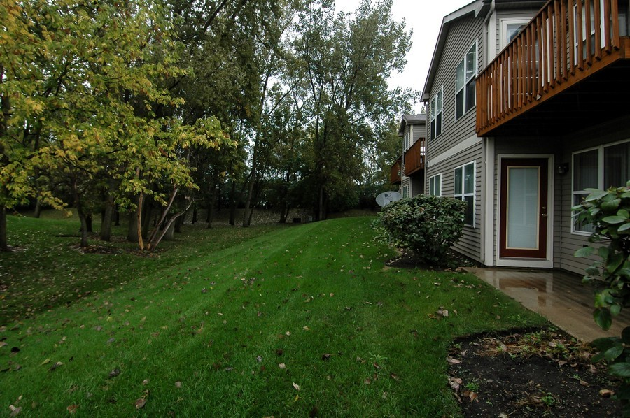 Real Estate Photography - 1020 Chaucer Ct, B, Elgin, IL, 60120 - Back Yard