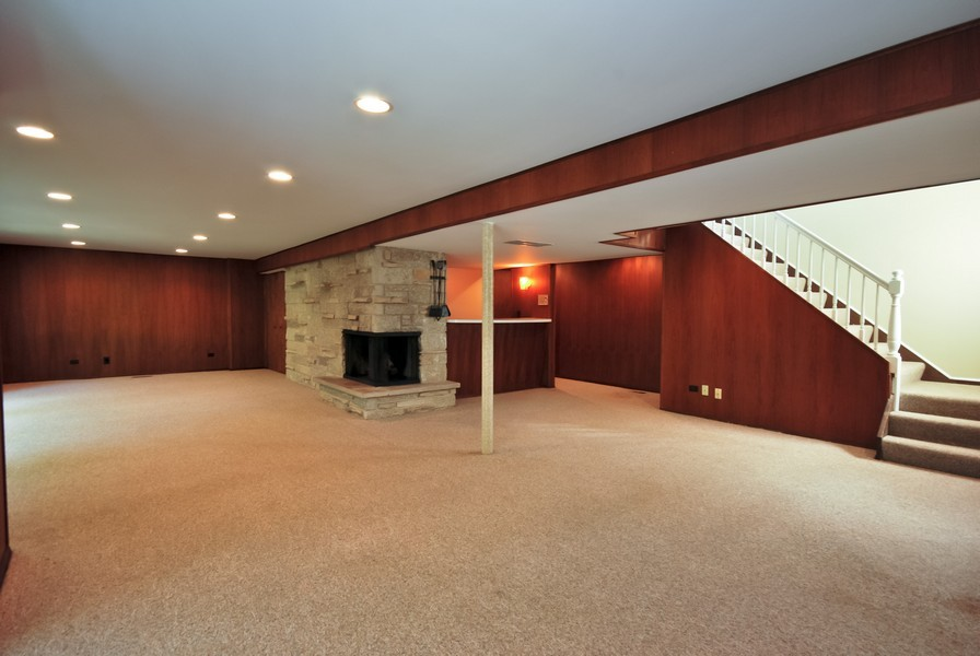 Real Estate Photography - 3661 Saratoga, Downers Grove, IL, 60515 - Basement