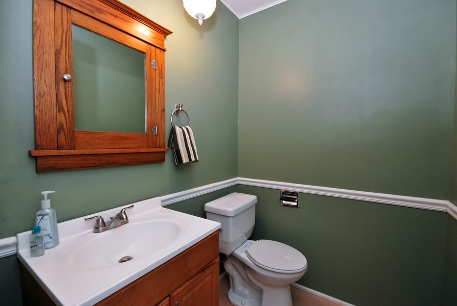 Real Estate Photography - 3661 Saratoga, Downers Grove, IL, 60515 - Bathroom