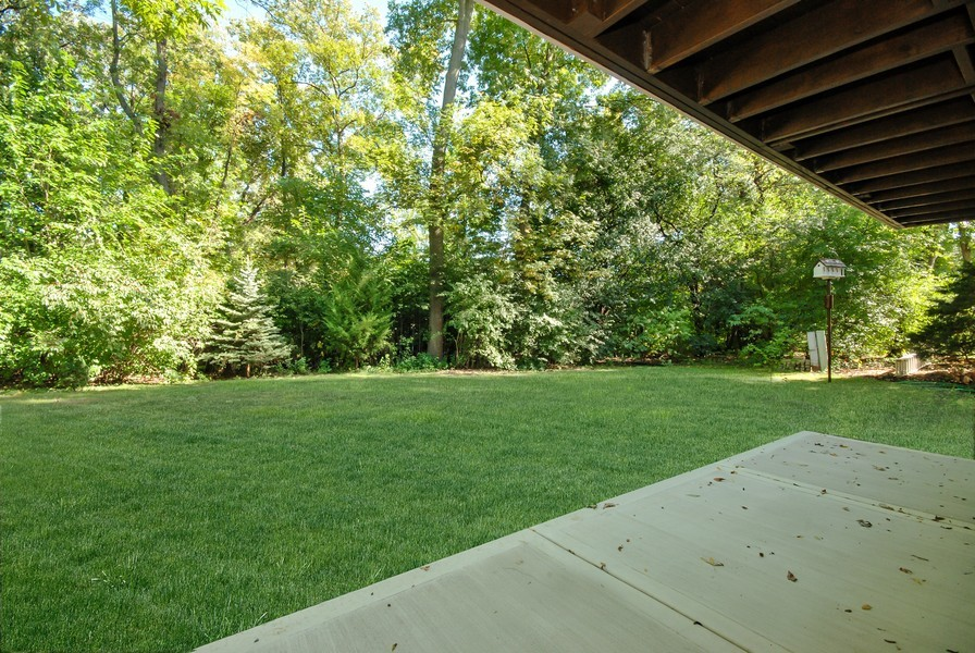 Real Estate Photography - 3661 Saratoga, Downers Grove, IL, 60515 - Patio