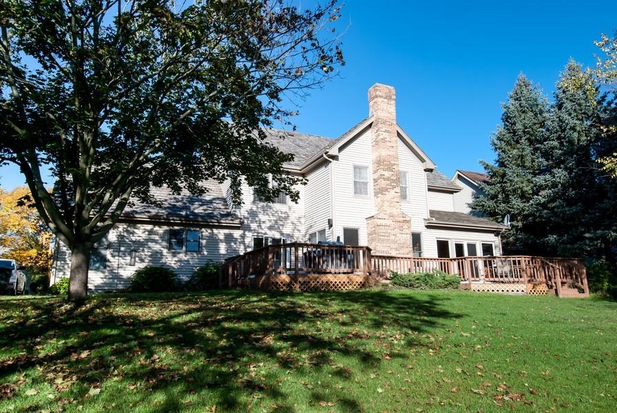 Real Estate Photography - 679 Bent Ridge LN, Barrington, IL, 60010 - Rear View