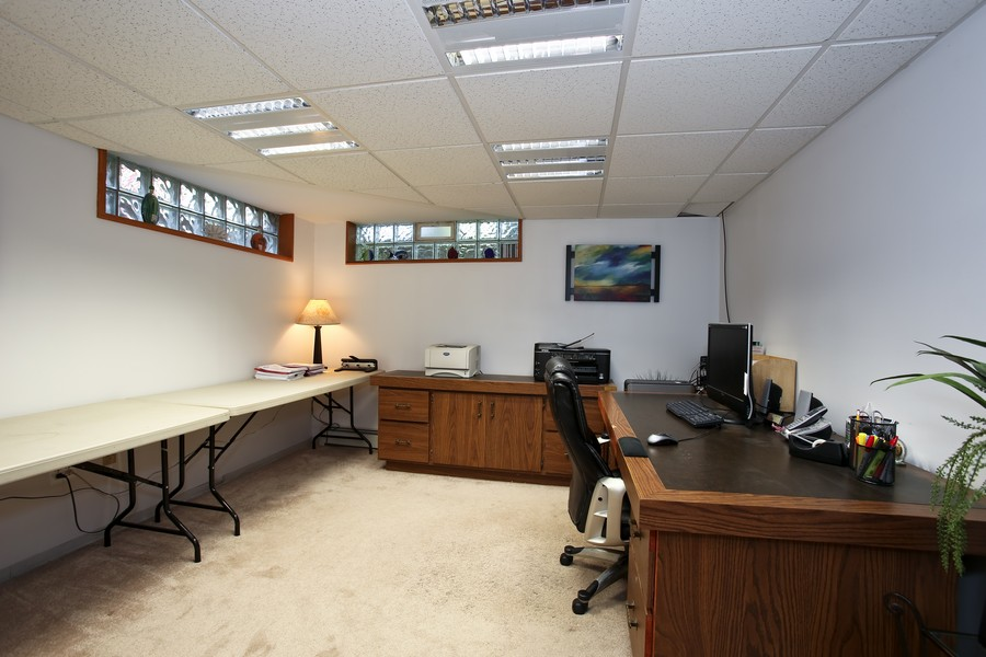 Real Estate Photography - 431 Bunning Dr, Downers Grove, IL, 60516 - Office