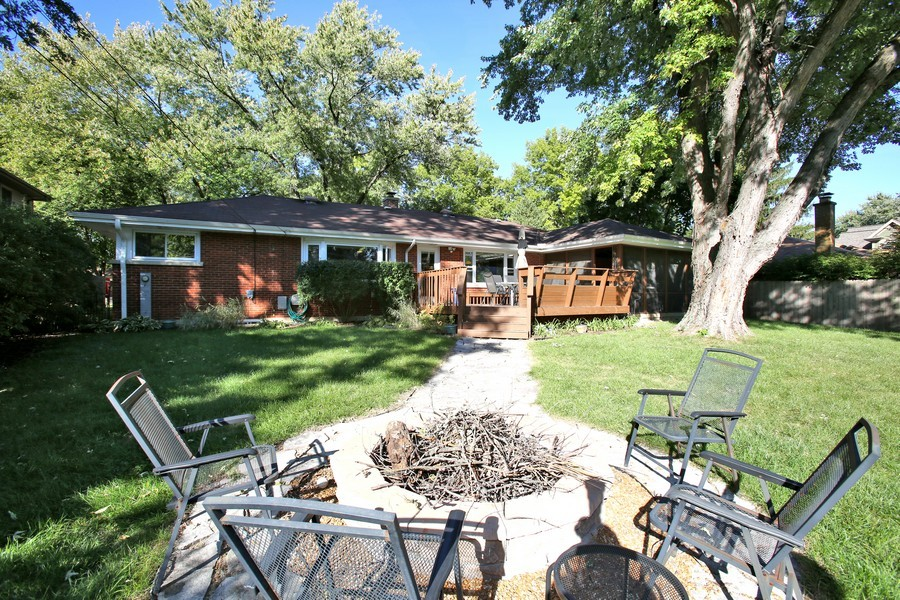 Real Estate Photography - 431 Bunning Dr, Downers Grove, IL, 60516 - Rear View