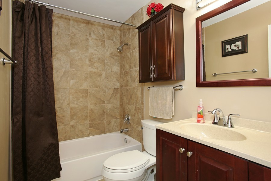 Real Estate Photography - 5907 Meadow Dr, Lisle, IL, 60532 - Master Bathroom