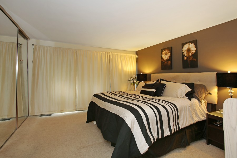 Real Estate Photography - 5907 Meadow Dr, Lisle, IL, 60532 - Master Bedroom