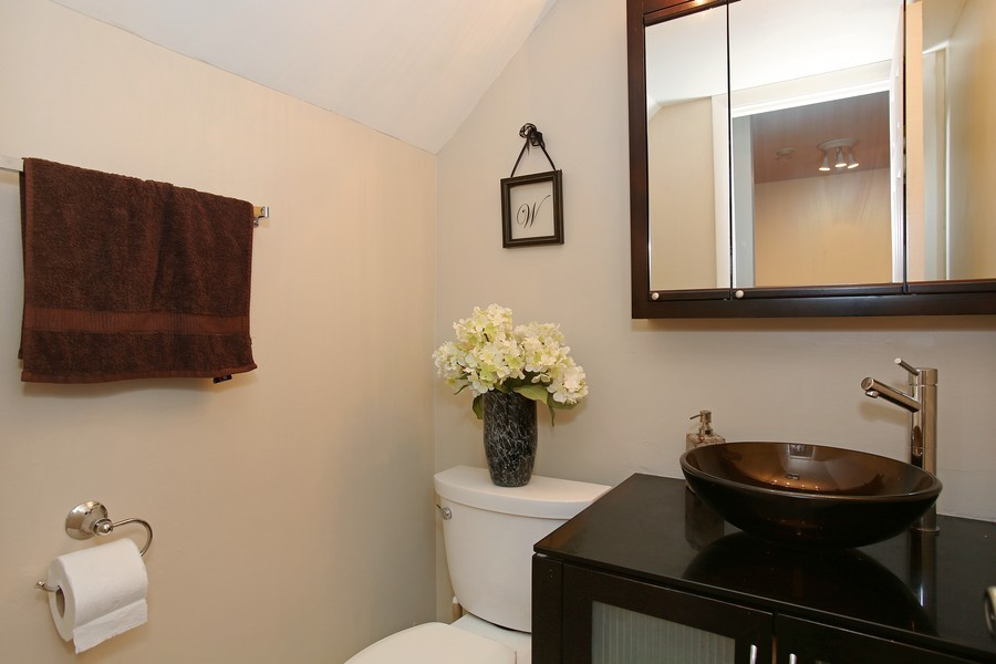 Real Estate Photography - 5907 Meadow Dr, Lisle, IL, 60532 - Bathroom