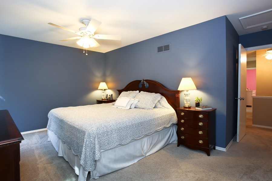 Real Estate Photography - 3940 West End Road, Downers Grove, IL, 60515 - Master Bedroom