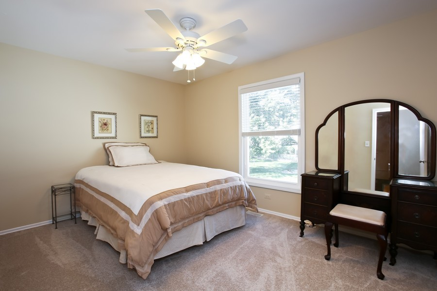 Real Estate Photography - 3940 West End Road, Downers Grove, IL, 60515 - 3rd Bedroom