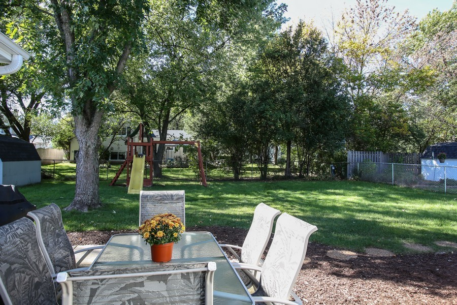 Real Estate Photography - 3940 West End Road, Downers Grove, IL, 60515 - Back Yard